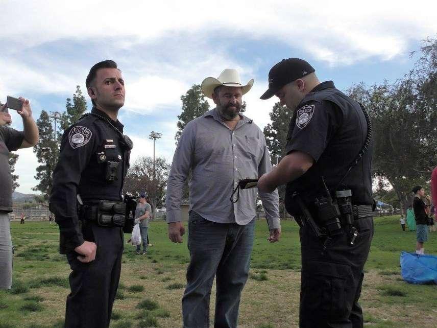 Police cite Break the Ban leader