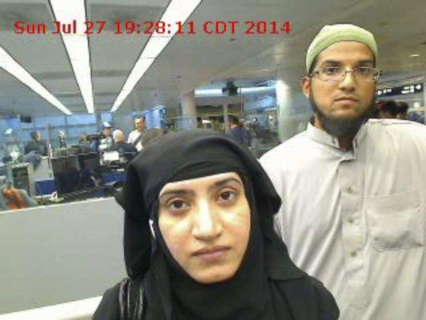 Syed Farook and Tashfeen Malik