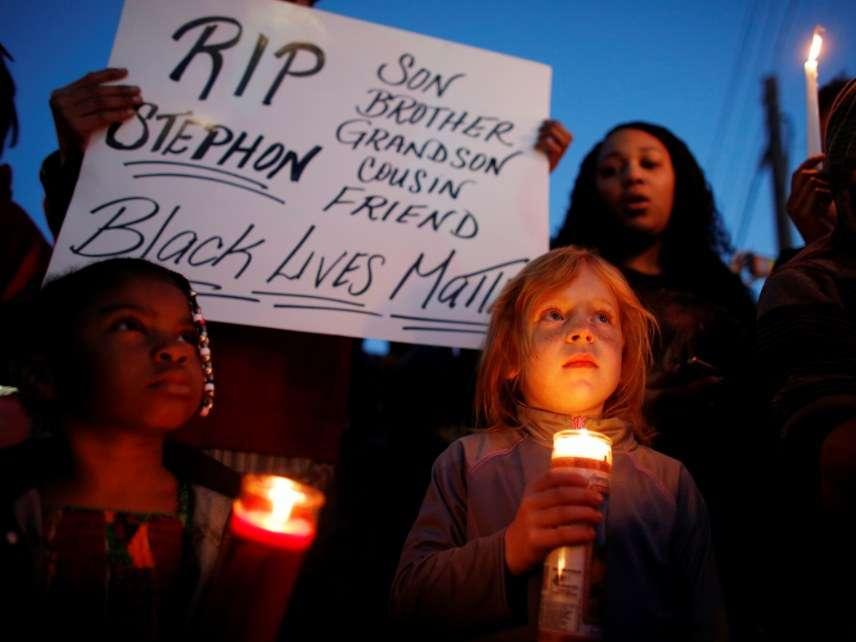 Stephon Clark candlelight vigil
