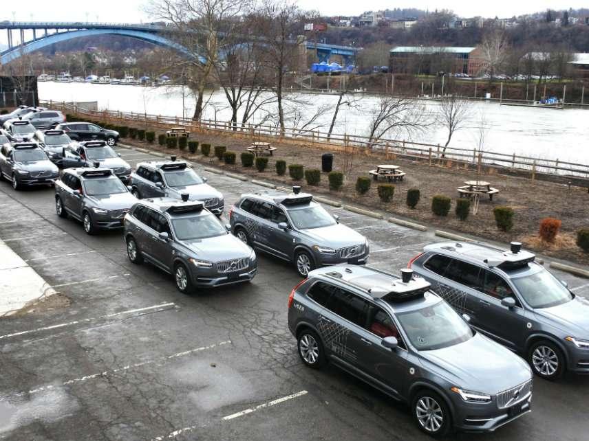 Uber fleet