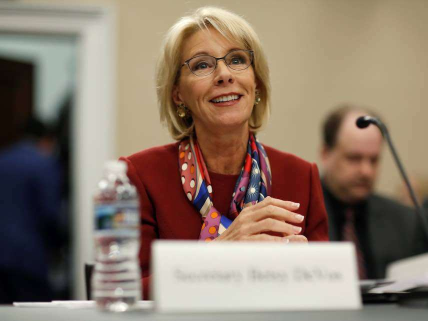 Betsy Devos Has Rural Problem Column >> Why The Federal Government Can T Mandate An Ideal School Suspension