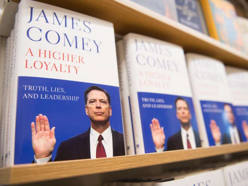 James Comey's book