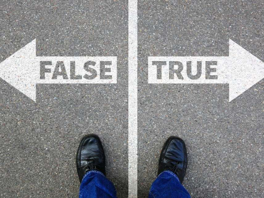 True vs. False