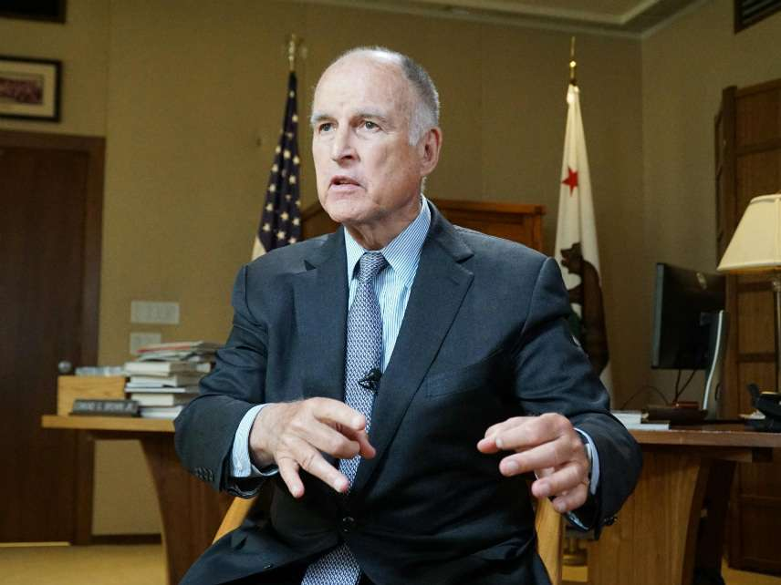7f19a2bfe California Gov. Jerry Brown Called Gas Tax Opponents 'Freeloaders.' Now  He's Spending Billions of Their Money to Fund Transit They Don't Use.
