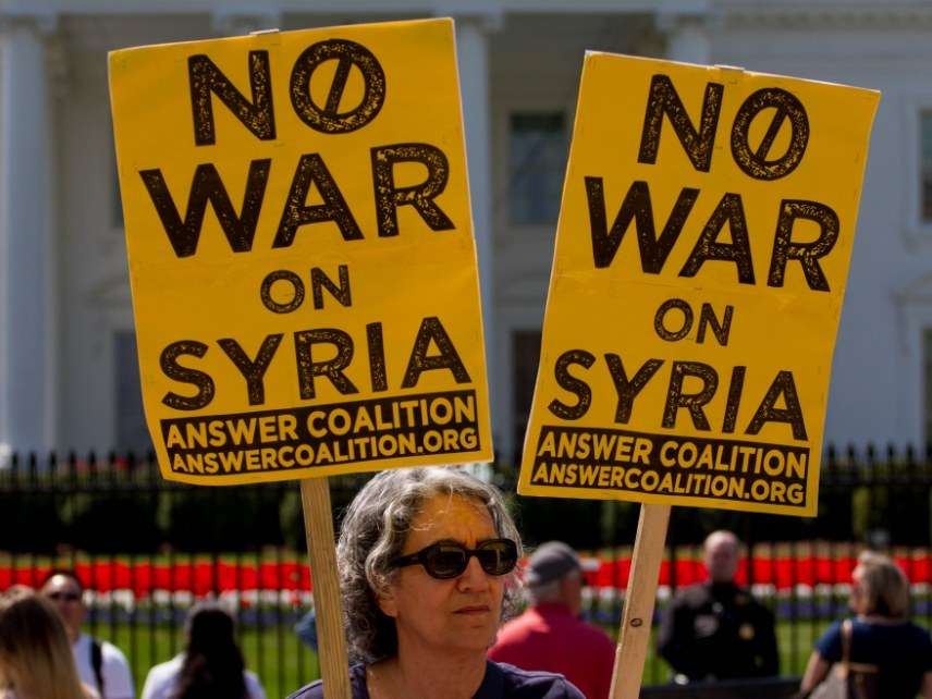 Syria war protesters