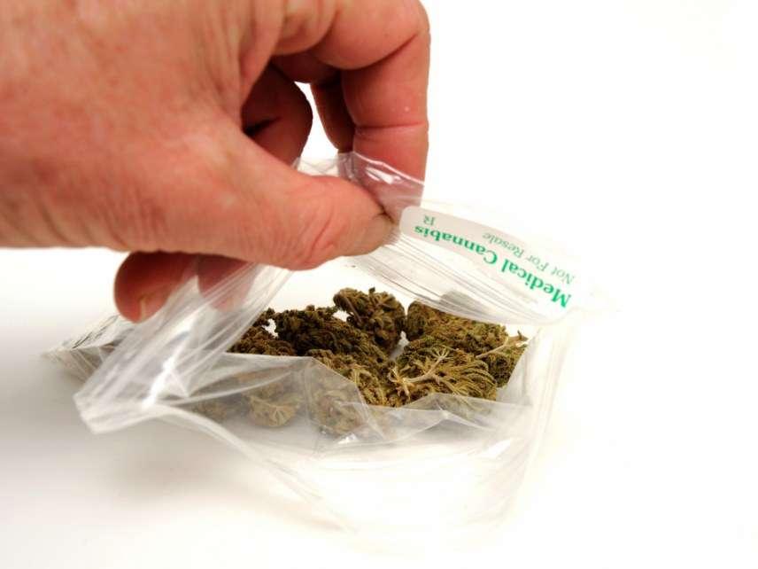 marijuana baggie