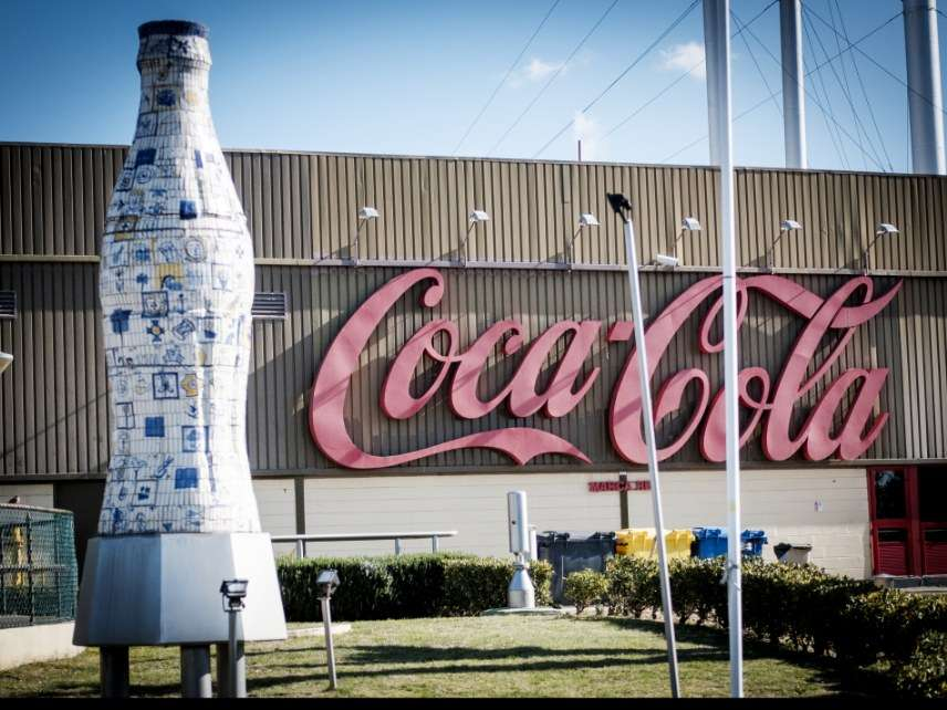 Coca Cola plant in Portugal