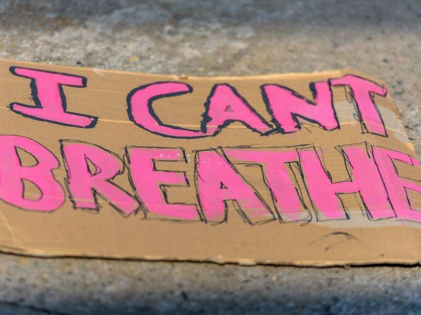 Garner protest sign