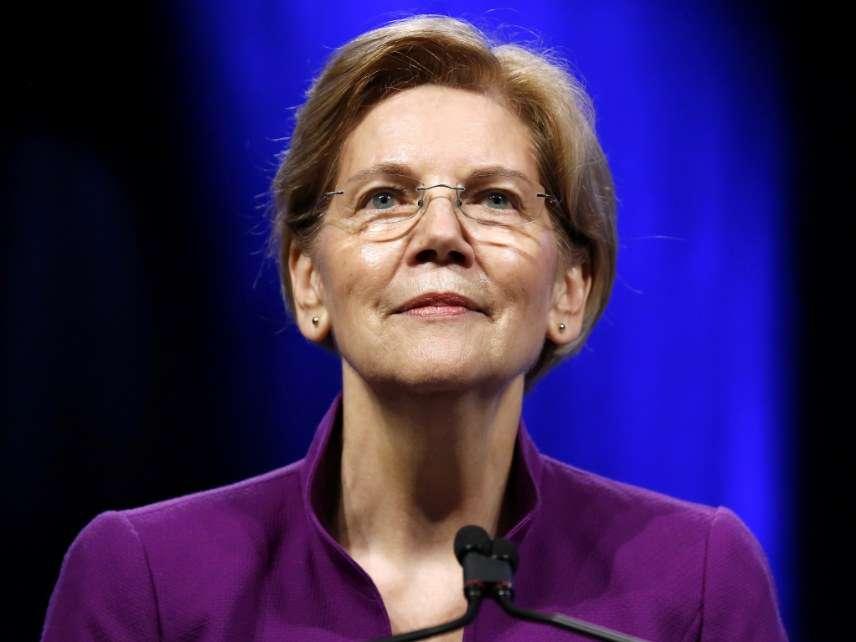 870698cec34 Elizabeth Warren Plans To Destroy Capitalism By Pretending To  Save ...