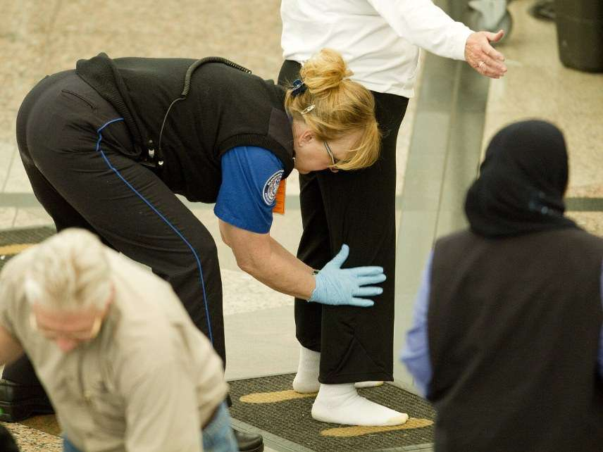 TSA search