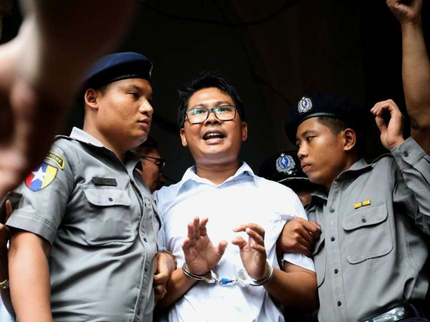 Jailed reporter