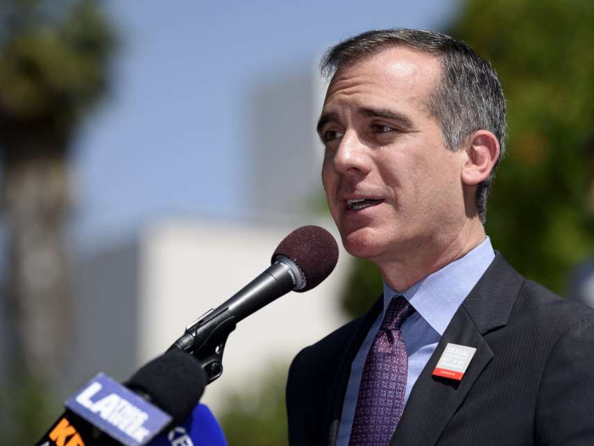 L.A. Mayor Eric Garcetti