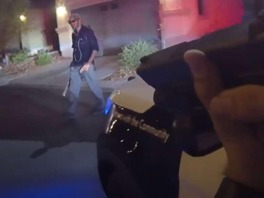 Las Vegas Cops Fatally Shoot Man Armed With Plastic Sword