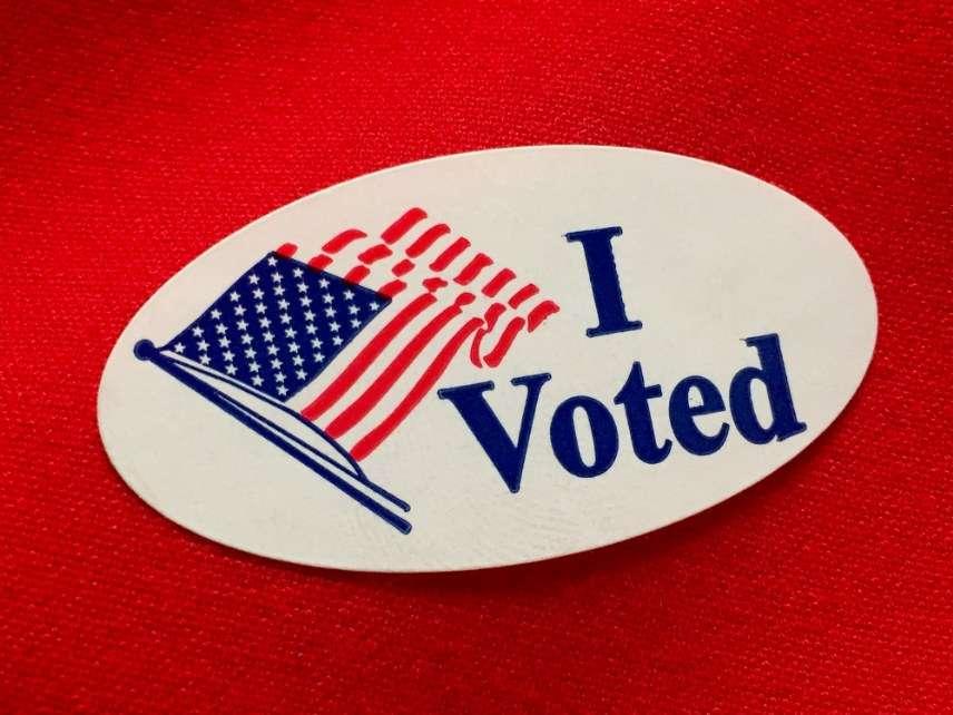 'I voted'