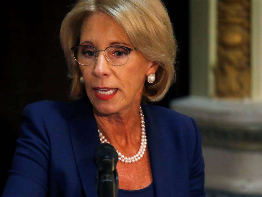 New Rules Let Ed Department Ignore >> Betsy Devos Formally Unveils New Title Ix Rules 3 Ways They Will