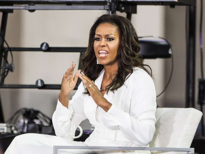 Michelle Obama Didn't Want to Nag People About School Lunch – Reason com