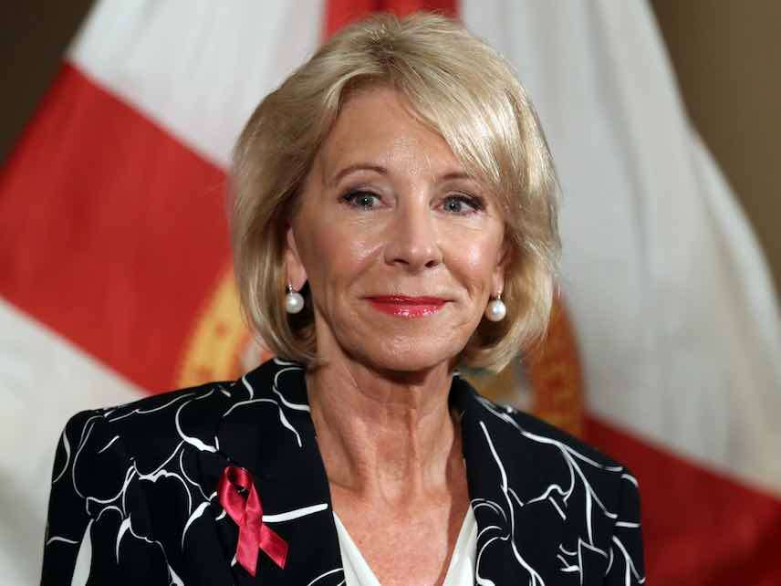 A Commentary By Betsy Devos Tolerating >> 73 Of Top U S Universities Do Not Guarantee The Presumption Of