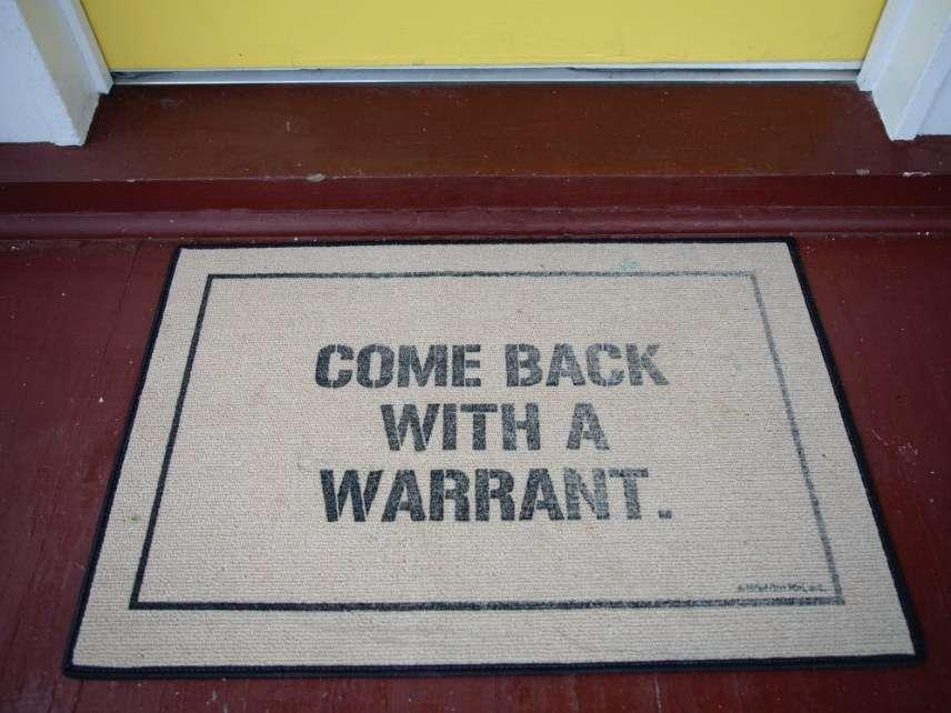 Warrant doormat