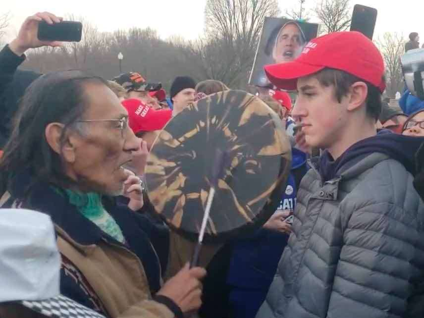 591be5d03 The Media Wildly Mischaracterized That Video of Covington Catholic ...