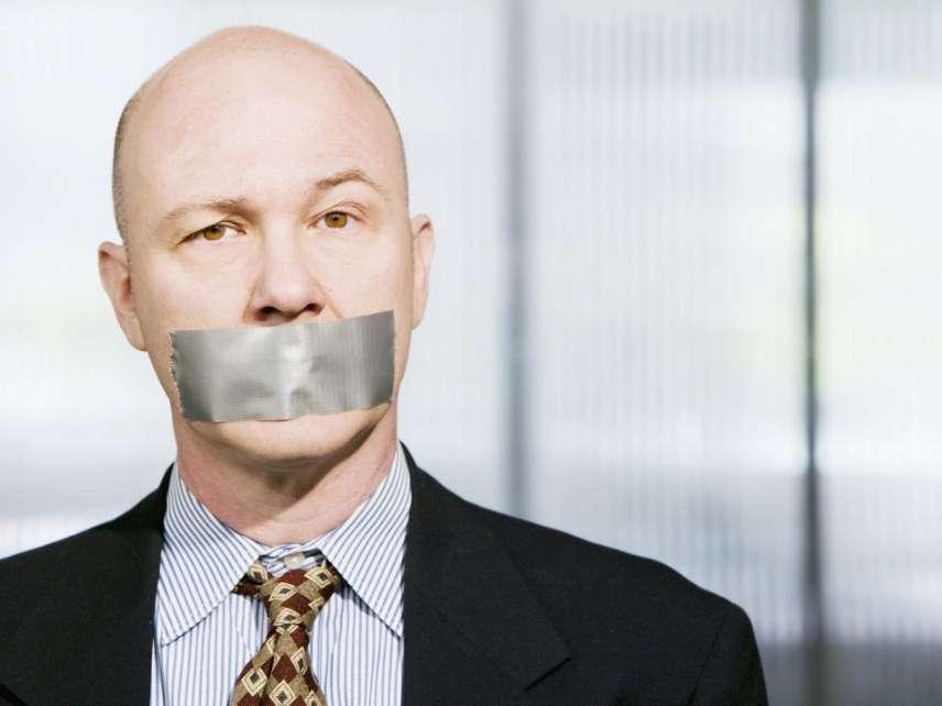 Censored businessman