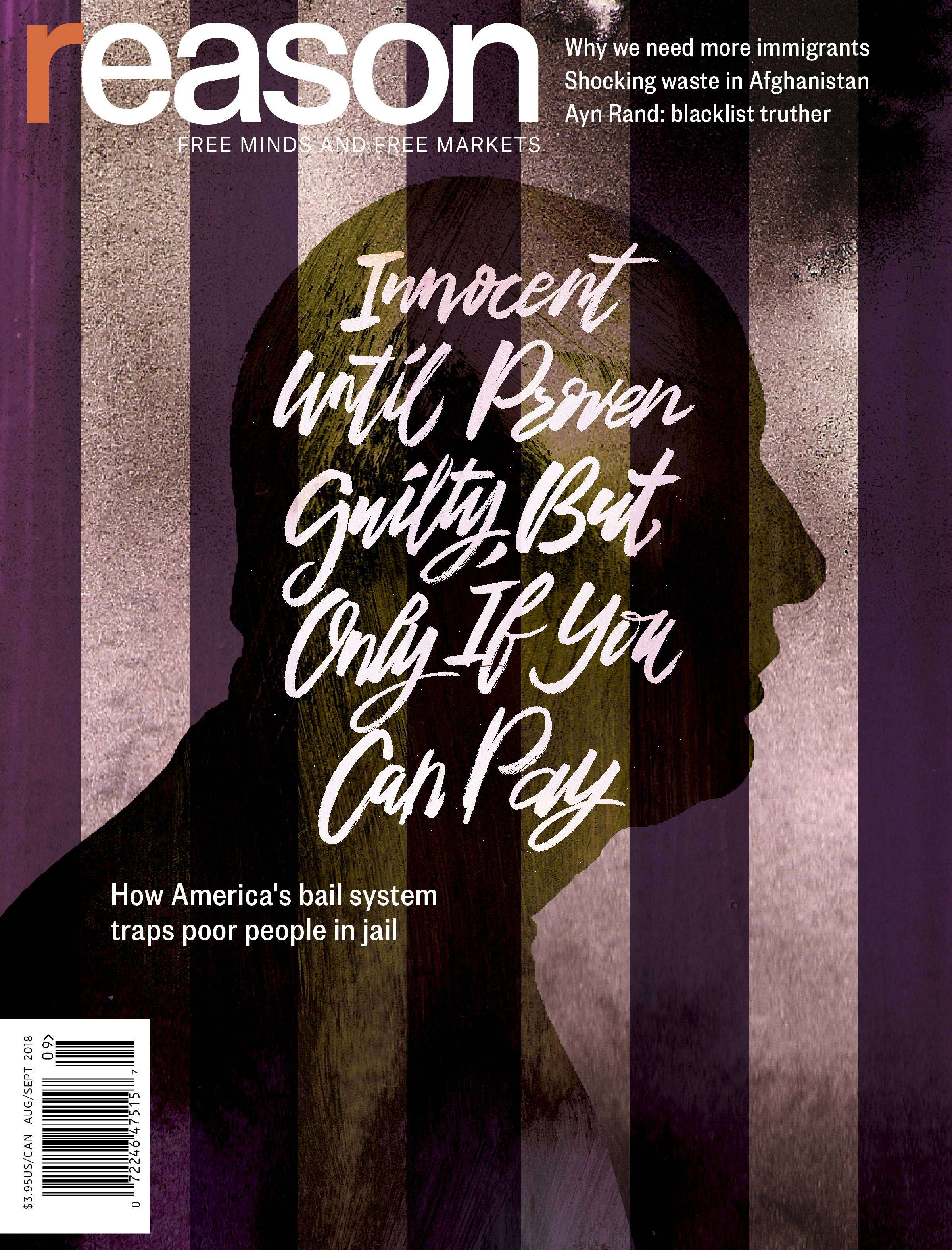 Reason bail cover story