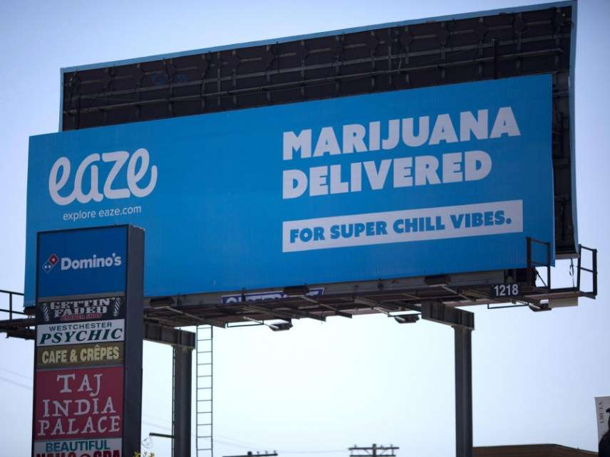 Marijuana advertisement