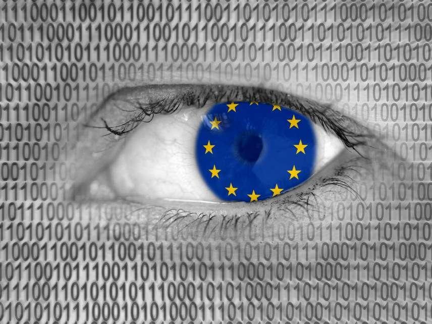 European Union and binary code