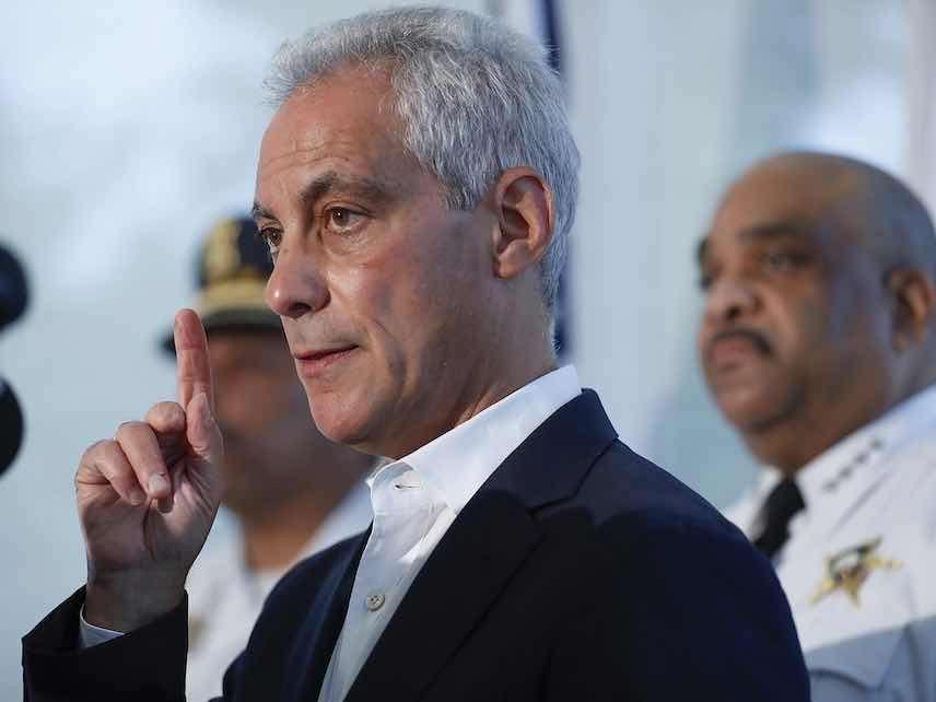 Chicago Mayor Rahm Emanuel, Police Superintendent Still