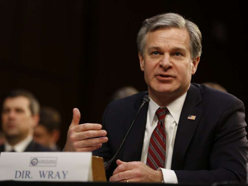 FBI Director Christpher Wray