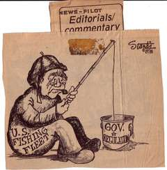 Scott Stantis' First Pro Cartoon