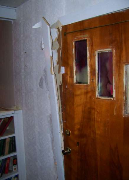 Tracy Ingle's door.