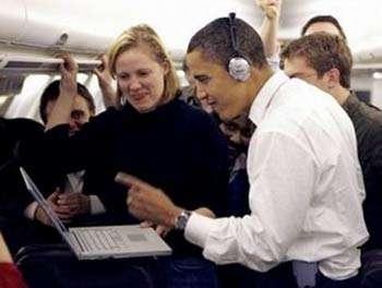 Obama on the web