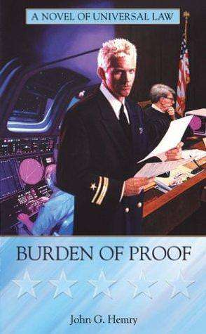 This is a visual depiction of The Burden of Proof