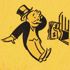 Rich Uncle Pennybags can't believe he made a profit on his TARP investment