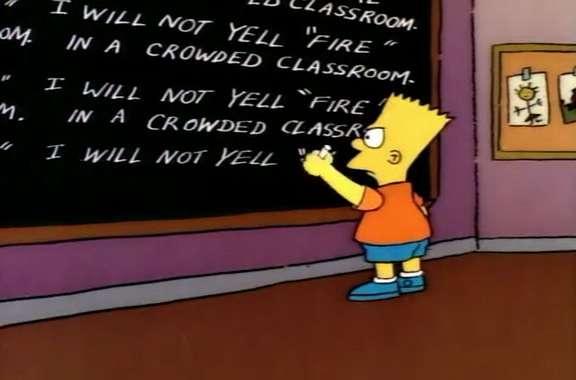 fire…bad teachers!