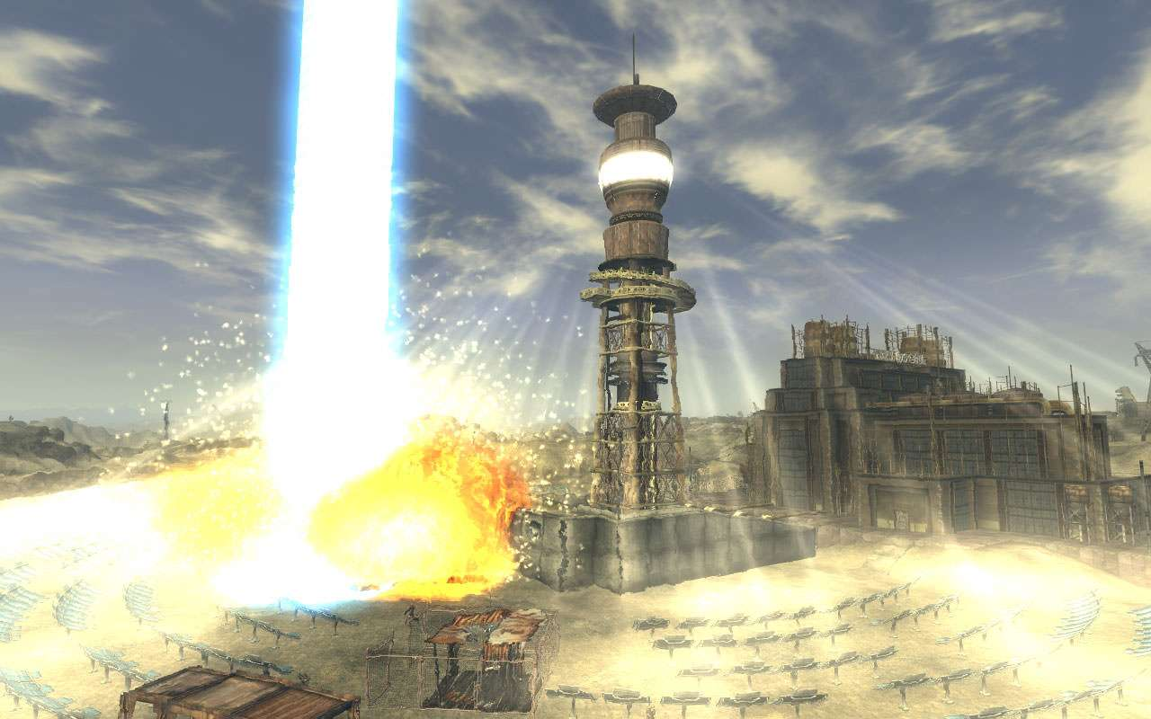 Helios One, Fallout, solar power tower
