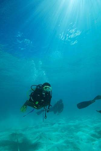 Nasheed scuba diving underwater press conference Maldives