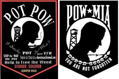 Veterans for Weed United, pro-pot, POW/MIA