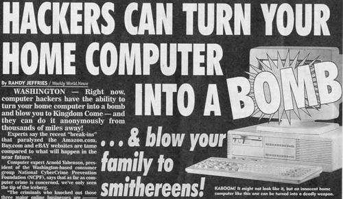 computer terrorism