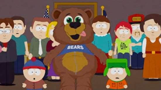 Prophet Muhammed, South Park, bear suit