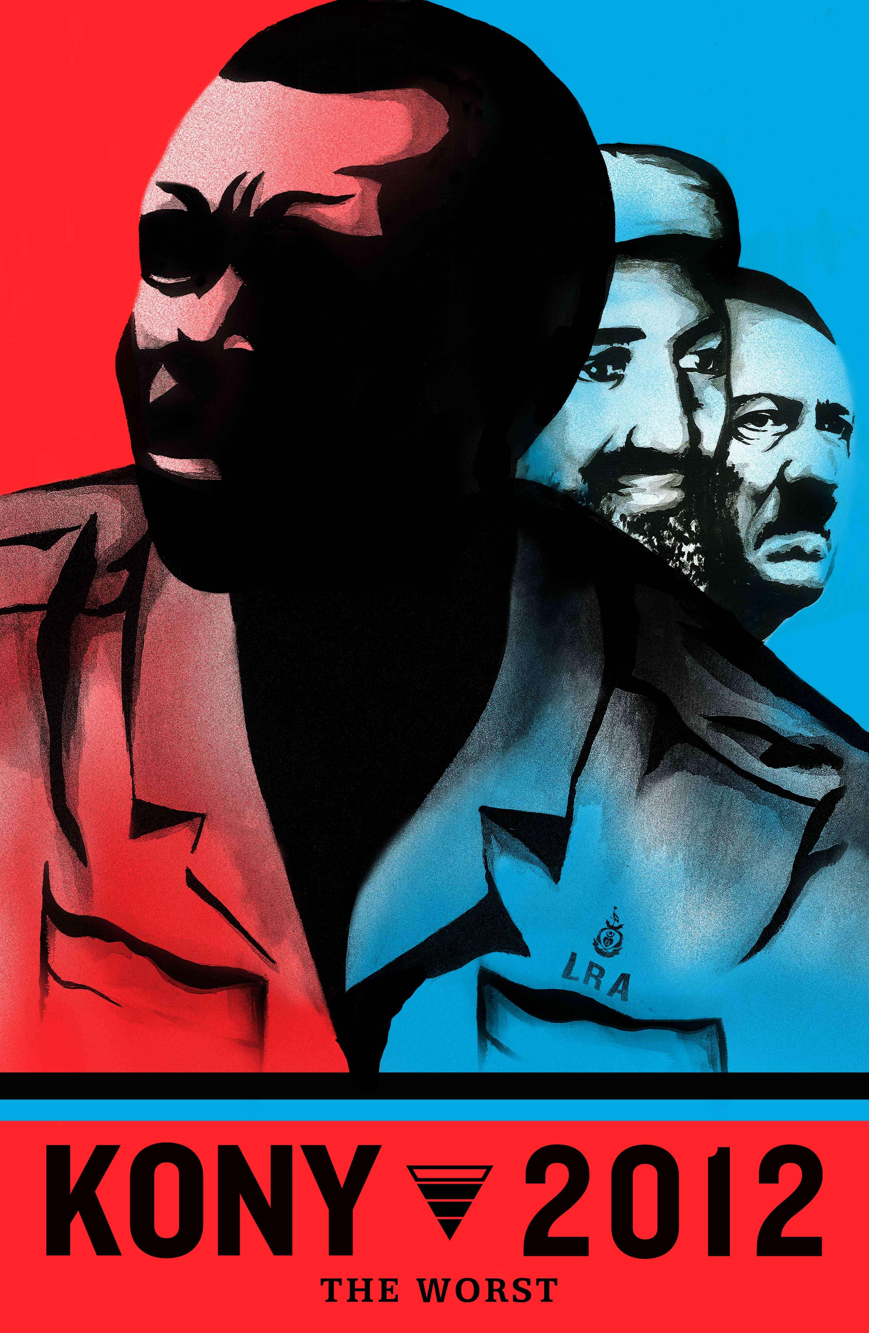 Joseph Kony, Osama bin Laden, Hitler