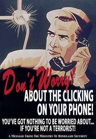 Don't worry about the clicking on your phone …