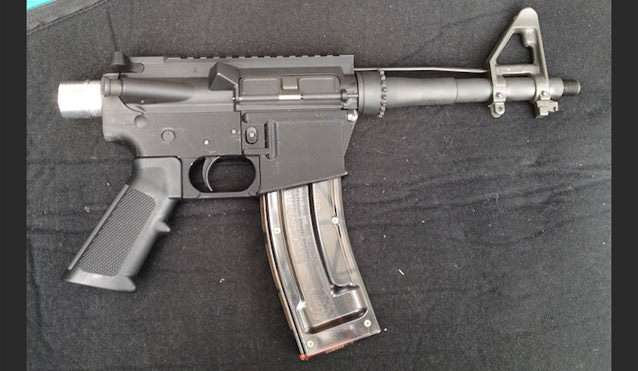 3D printed firearm