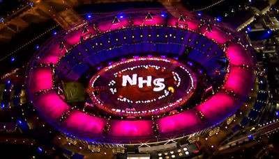 "Olympic WTF: Even the ""Bowlsheviks"" at Mother Jones Incredulous at Opening Ceremony Celebration of England's NHS – Reason.com"