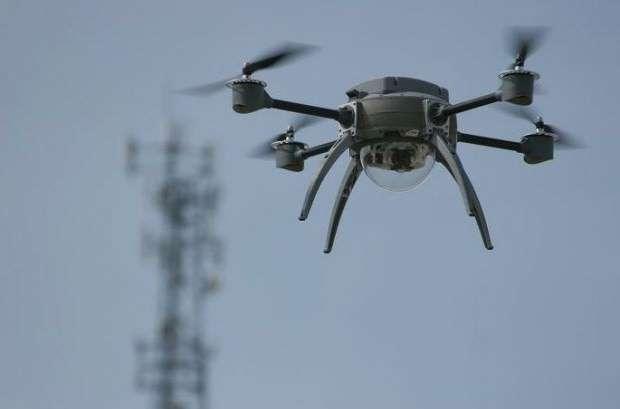 Wierd spider-bot drone