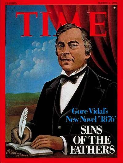 Gore Vidal's new novel 1876
