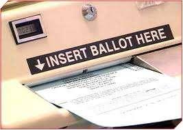 Optically scanned ballot