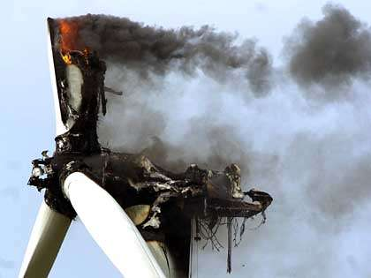 A metaphor for wasted wind subsidies
