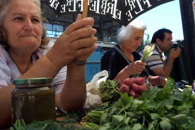 Greek street vendor