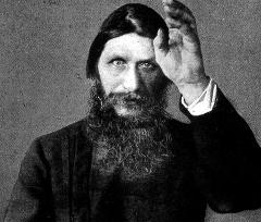 At least Rasputin could grow a proper beard